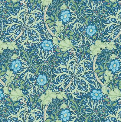 Morris Seaweed - Cobalt/thyme