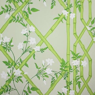 Jasmine Lattice - Spring Leaf