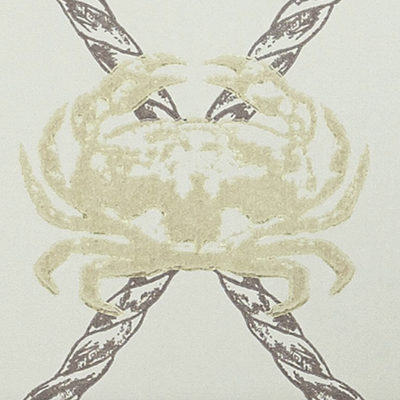Crab - Charcoal / Gold