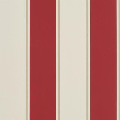 Ralph Lauren Mapleton Stripe - Vermilion