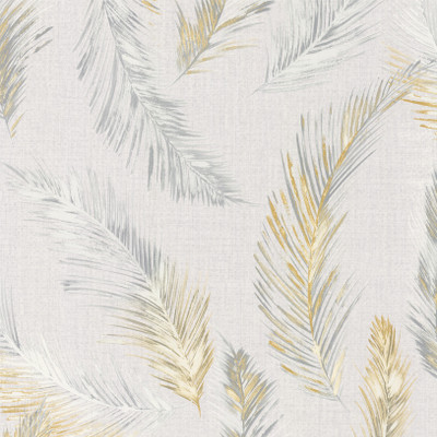 Feathers - Grey / Yellow