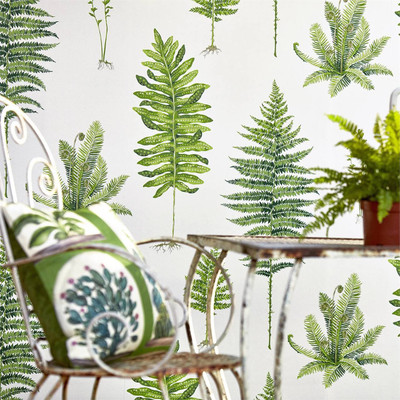 Fernery - Botanical Green