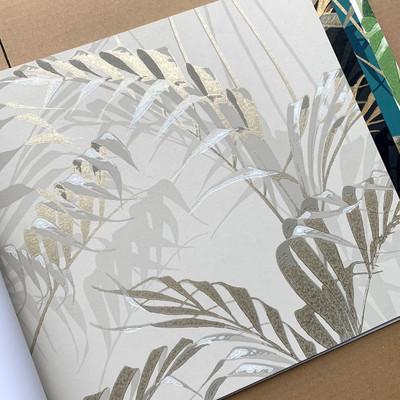 Palm House - Linen / Gilver