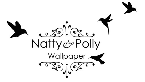 Natty & Polly Wallpaper
