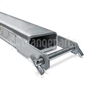 ORANGEPARTS 06071024 GALVANIZED FORK EXTENSION SET 2400MM LENGTH