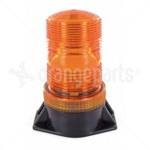 ORANGEPARTS 04091040 LED STROBE LIGHT 12-100 VDC AMBER