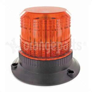 ORANGEPARTS 04091100 LED STROBE LIGHT 12-100 VDC AMBER