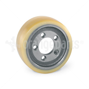 ORANGEPARTS 01141400 WHEEL DIA 254 MM WIDTH 100 MM AXLE DIA 80 MM USED ON: HYSTER,LINDE,YALE