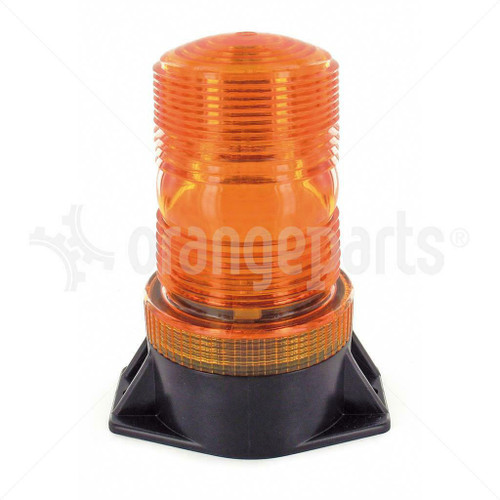 ORANGEPARTS 04091060 XENON STROBE LIGHT 12-100 VDC AMBER