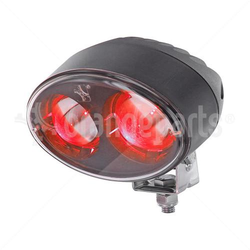 OrangeParts 01311296 RED Safety Led Light 12-80V