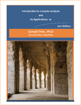 Introduction to Complex Analysis and Its Applications (eBook)