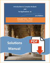 Student Solution Manual for Introduction to Complex Analysis