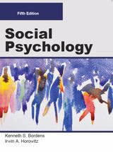 Social Psychology (Color Paperback)