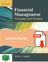 Lecture Guide for Financial Management 9e