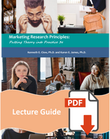 Lecture Guide for Marketing Research Principles