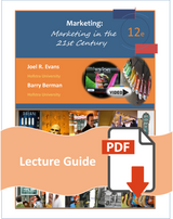 Lecture Guide for Marketing in the 21st Century