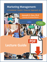 Lecture Guide for Marketing Management 2e