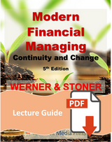 Lecture Guide for Modern Financial Managing