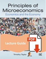 Lecture Guide for Principles of Microeconomics