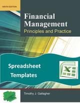 Spreadsheet Templates for Financial Management 9e