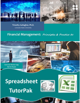 Spreadsheet TutorPack for Financial Management 8e