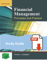 Study Guide for Financial Management 9e