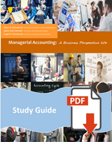 Study Guide for Managerial Accounting