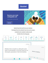 Quizlet for Accounting Information Systems