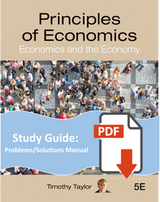 Problems and Solutions Manual for Principles of Economics-Digital