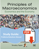 Problems and Solutions Manual for Principles of Macroeconomics