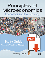 Problems and Solutions Manual for Principles of Microeconomics