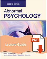 Lecture Guide for Abnormal Psychology