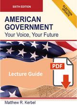 Lecture Guide for American Government 6e