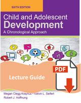 Lecture Guide for Child & Adolescent Development
