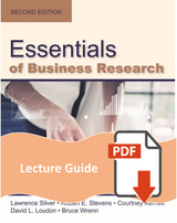 Lecture Guide for Essentials of Business Research