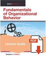 Lecture Guide for Fundamentals of Organizational Behavior