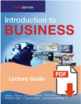 Lecture Guide for Introduction to Business