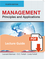Lecture Guide for Management