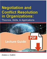 Lecture Guide for Negotiation and Conflict Resolution in Organizations