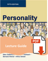 Lecture Guide for Personality