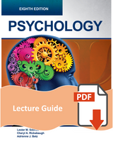 Lecture Guide for Psychology