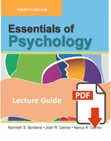 Lecture Guide for Essentials of Psychology
