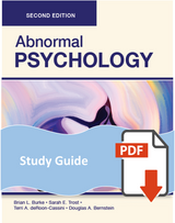 Study Guide for Abnormal Psychology
