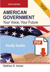 Study Guide for American Government 6e