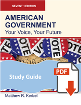 Study Guide for American Government 7e