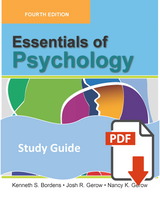 Study Guide for Essentials of Psychology