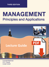 Lecture Guide for Management 3e