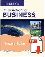 Lecture Guide for Introduction to Business 2e