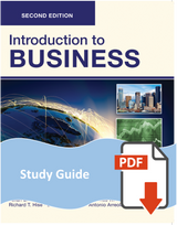 Study Guide for Introduction to Business 2e