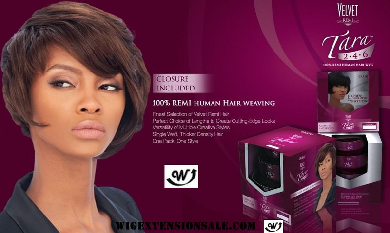 Outre 100 Remy Human Hair Weave Velvet Remi Tara 2 4 6